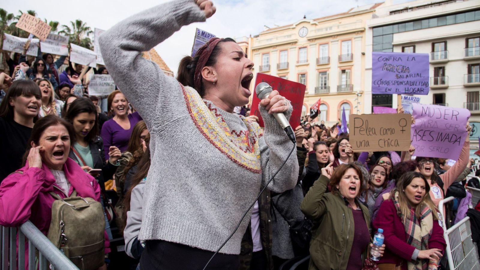 Foto: Miles de mujeres se han manifestado por sus derechos en todo el país. (EFE)