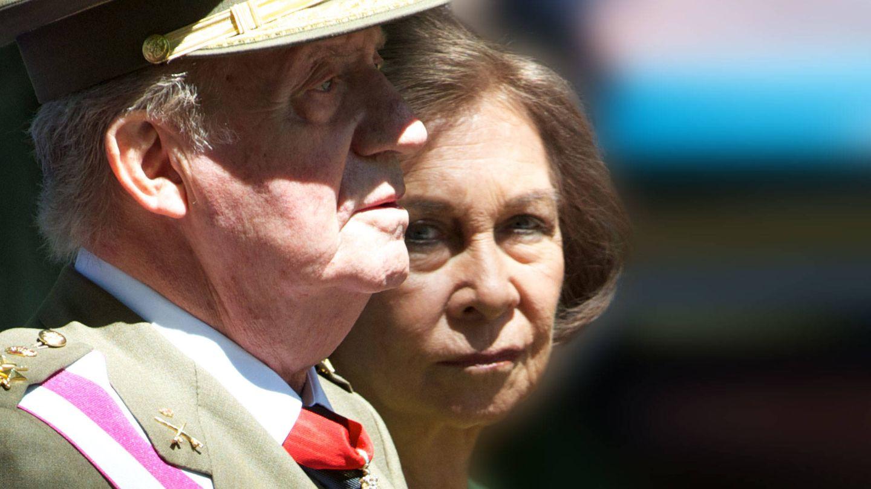 La reina Sofía y el rey Juan Carlos, en una imagen de archivo. (Getty)