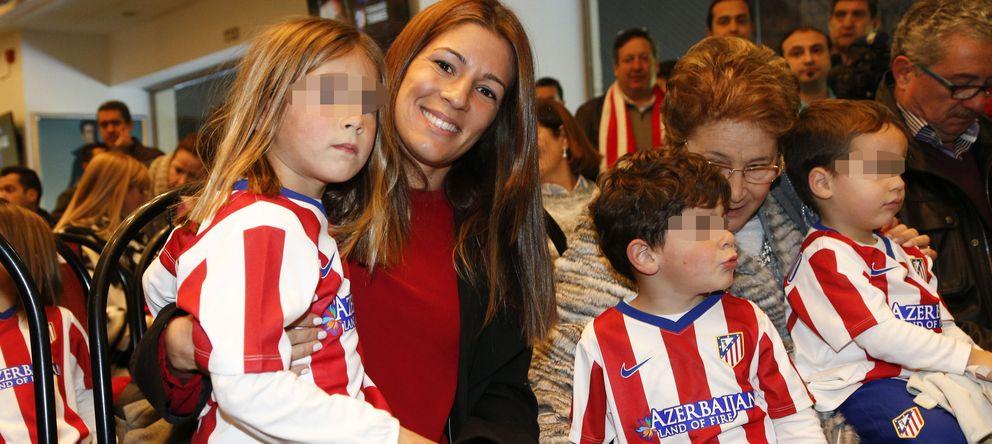 Foto: Olalla Domínguez con sus hijos Leo y Nora (Gtres)