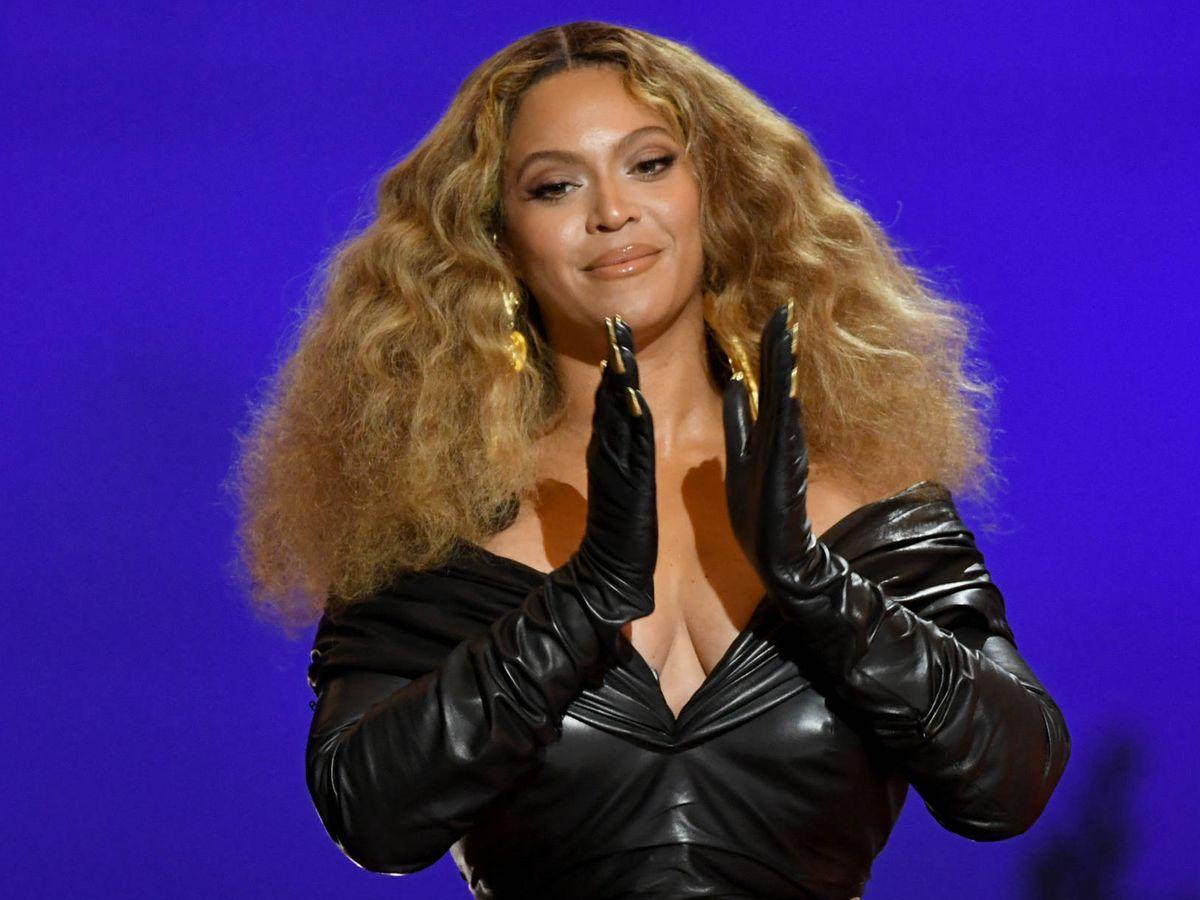 Foto: Beyoncé, en los Grammy 2021. (Getty)