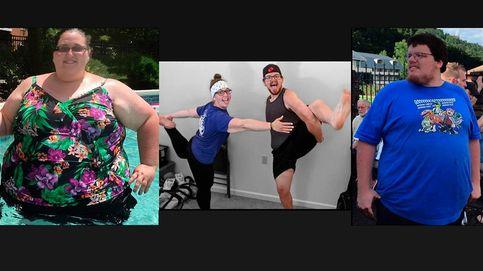 Una pareja adelgaza 240 kilos entre ambos y explica sus tres trucos para lograrlo
