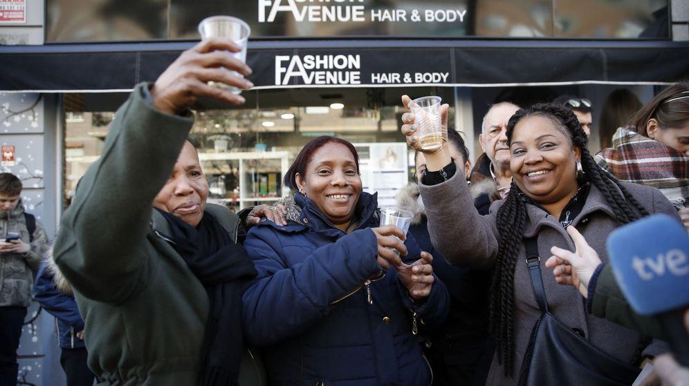 Foto: El año pasado la Lotería de Navidad terminó en 13   Foto: EFE