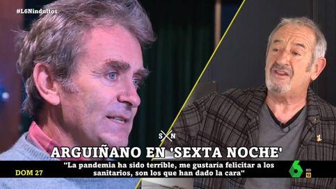 'La Sexta noche'   Karlos Arguiñano da la cara por Fernando Simón: Se equivoca todo dios