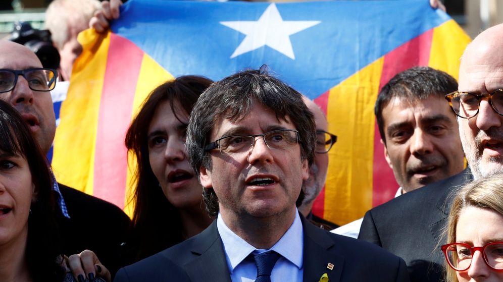 Foto: El 'expresident' de la Generalitat Carles Puigdemont. (Reuters)