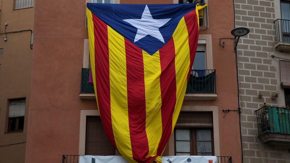 Foto: Una estelada en Manresa. (Reuters)