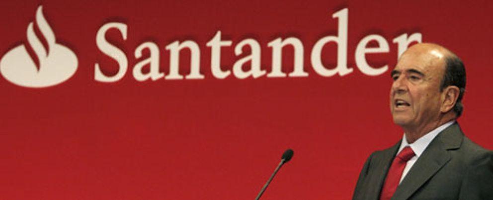 Foto: Santander revisa la valoración de su cartera inmobiliaria para acelerar su venta