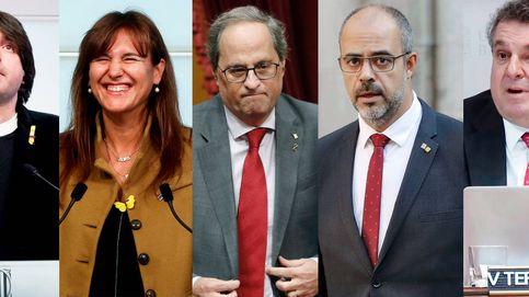 Torra, Buch, Borrás, Dalmases, Terradellas... La Generalitat, cercada por los tribunales