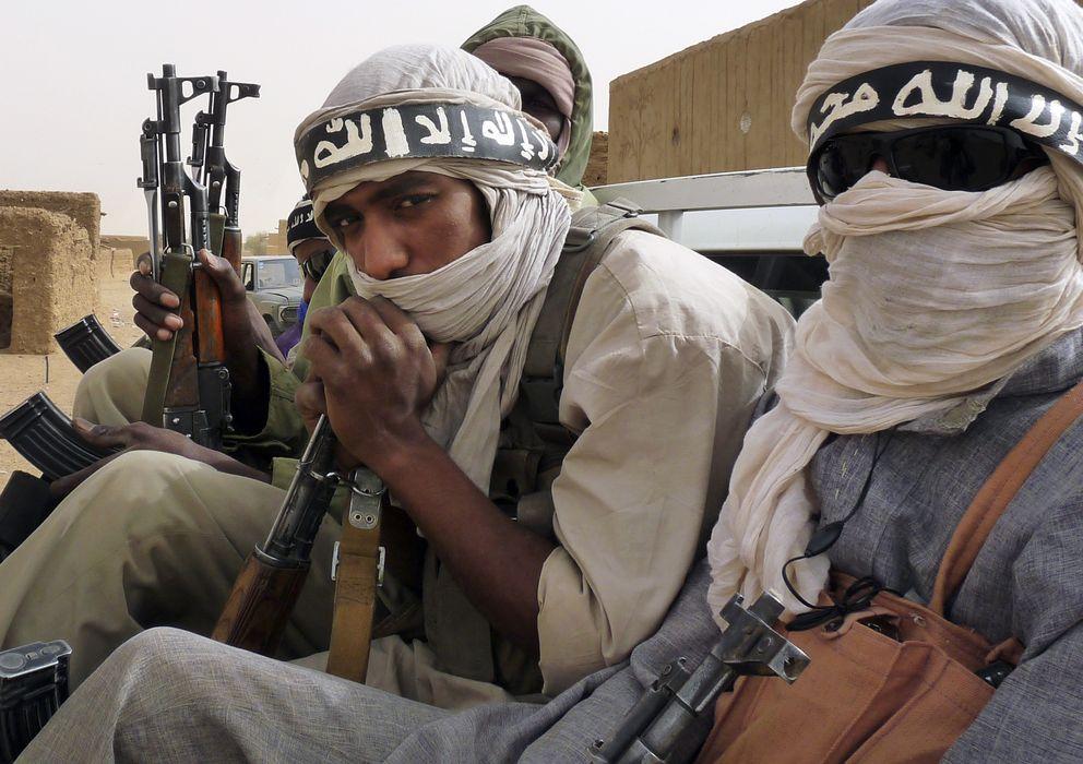 Foto: Militantes de Ansar Dine, un grupo armado islámico de Mali. (Reuters)