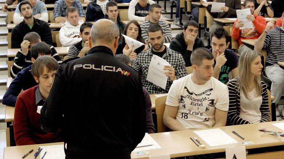 Caos en las oposiciones a la Policía a un día de la última prueba: No nos han respondido