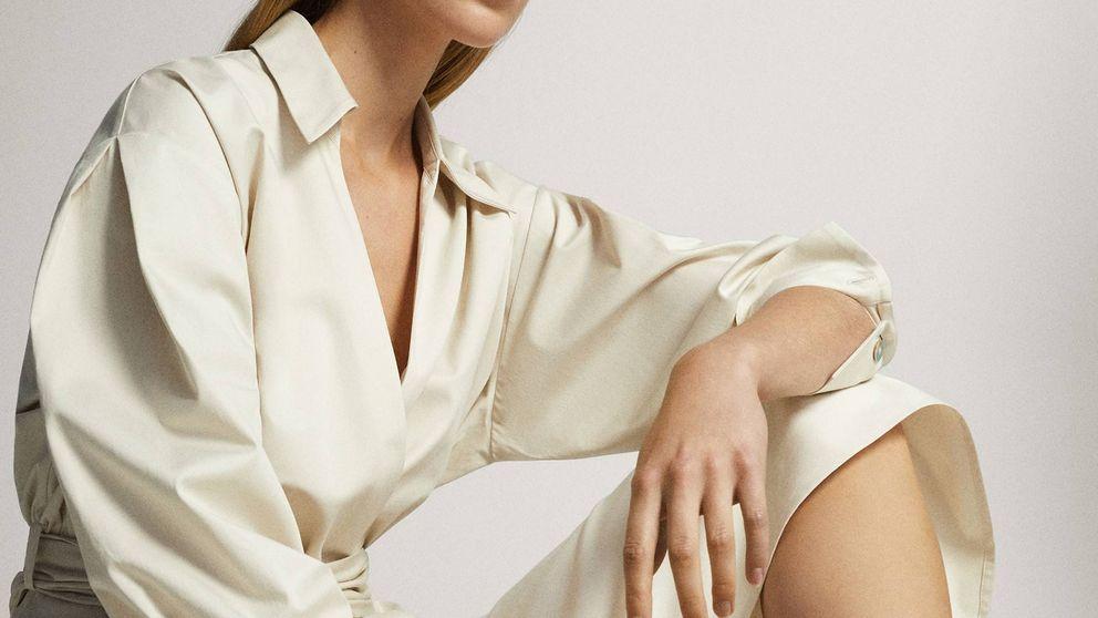 No existe vestido camisero más original que este de Massimo Dutti y nos fascina