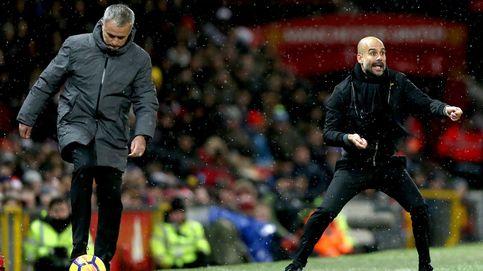 Bronca en Manchester: el derbi de Mourinho y Guardiola acabó a botellazos
