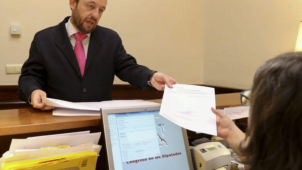 Foto: El portavoz de Hacienda del Grupo Parlamentario Ciudadanos, Francisco de la Torre. (EFE)