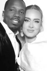 Adele y su novio Paul, infancias similares en una relación ¿no tan seria?