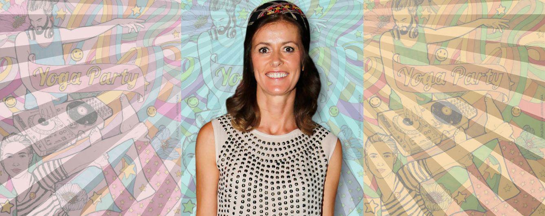 Nuria March, de 'marcha' en una 'yogui party' tras airearse su separación