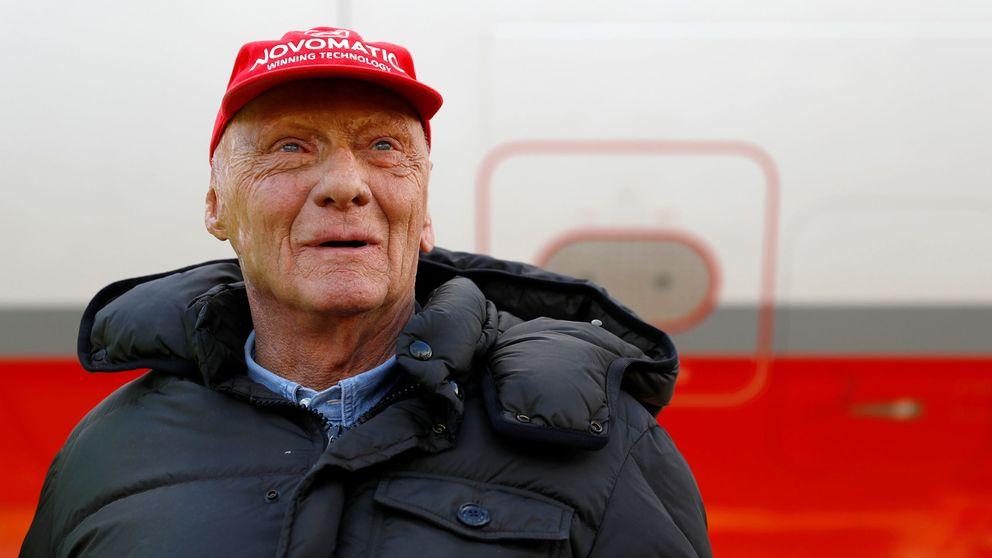 Niki Lauda o la increíble historia de quien regalaba sus trofeos al lavacoches