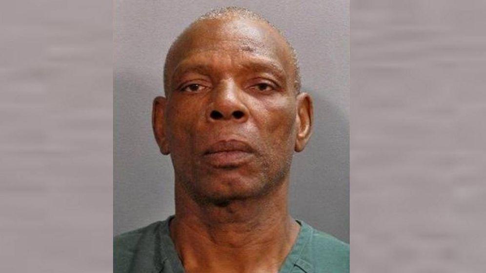 Foto: James Leon Jackson, detenido con 66 años de edad.