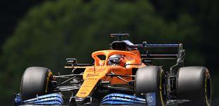 Post de McLaren recorta distancias, pero Norris empieza marcando primero a Carlos Sainz