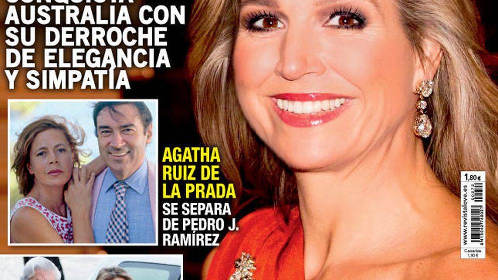 Kiosco Rosa: María Teresa Campos vs. Pedro J. Ramírez en las portadas