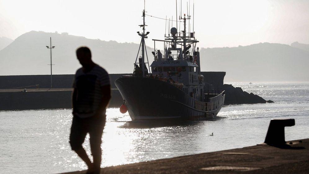 Foto: Un barco de salvamento - Archivo. (EFE)