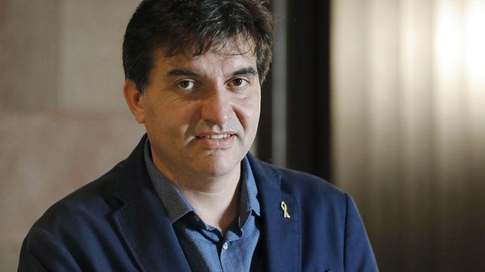 Foto: El presidente del grupo parlamentario de Esquerra, Sergi Sabrià. (EFE)