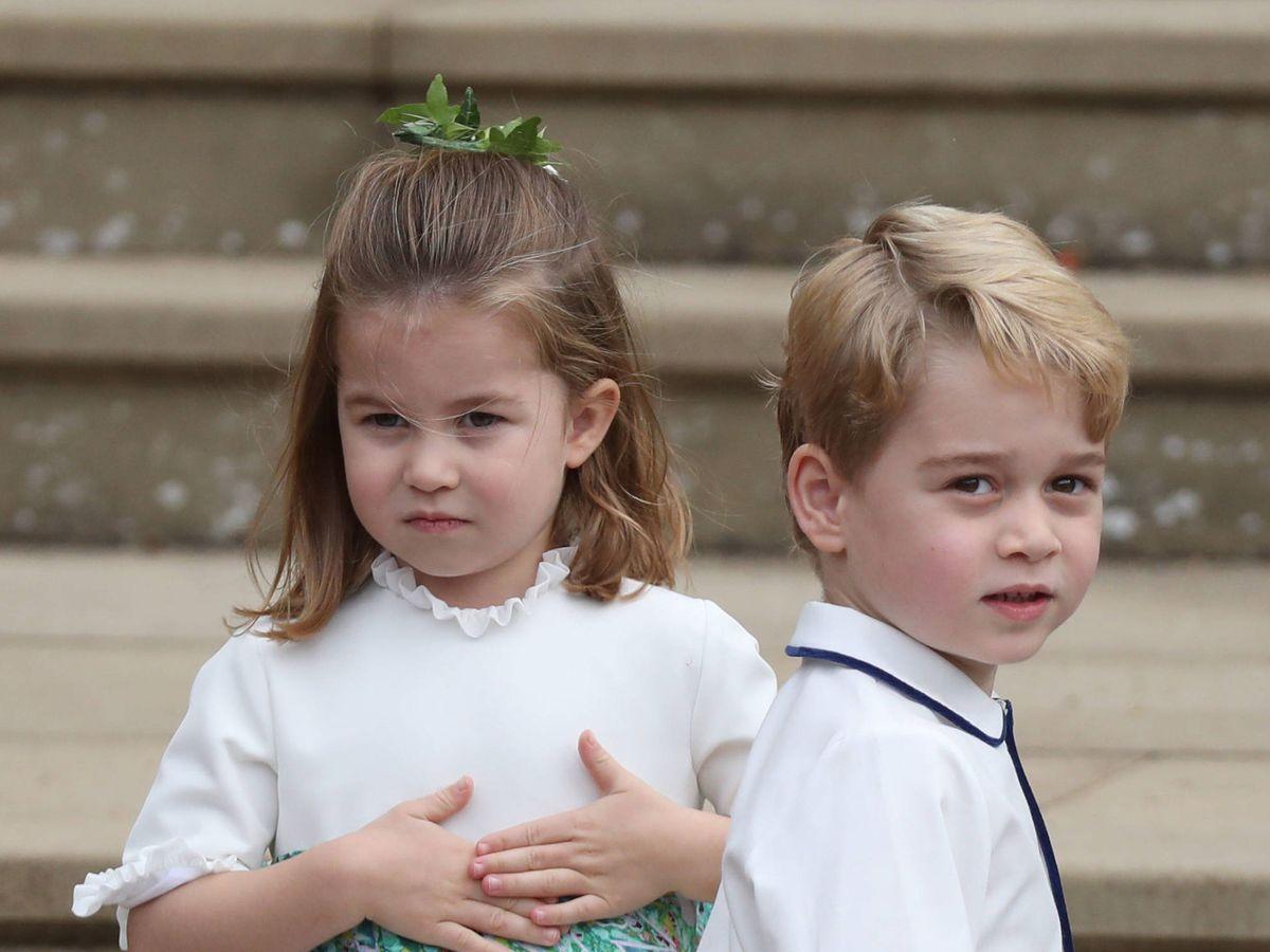 Foto: Charlotte y George, en una foto de archivo. (Getty)