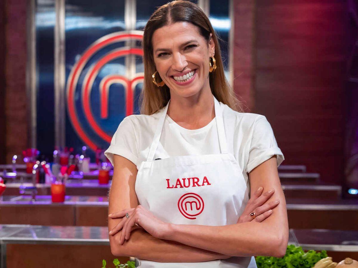 Foto: Laura Sánchez, en 'MaserChef Celebrity'. (TVE)