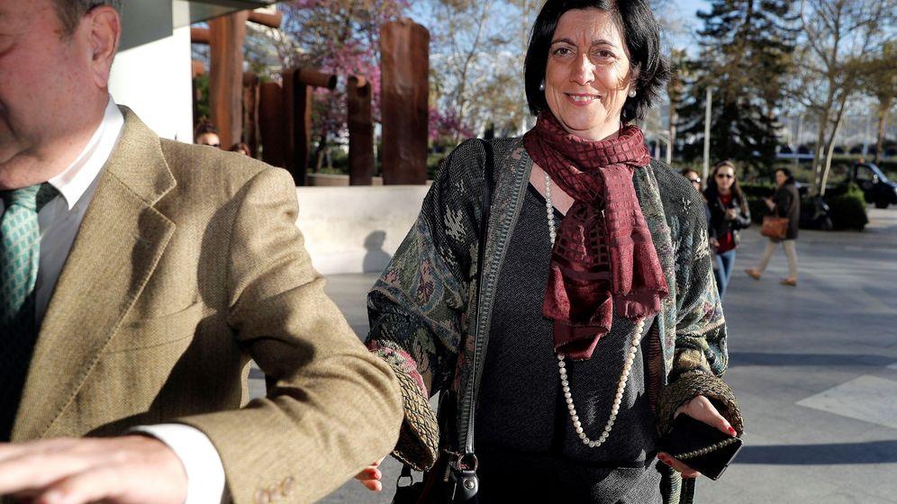 Foto: La exgerente de Ferrocarrils de la Generalitat Valenciana, Marisa Gracia. (EFE)