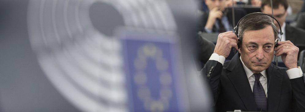 Foto: El presidente del BCE, Mario Draghi, en una sesión en el Parlamento Europeo. (EFE)