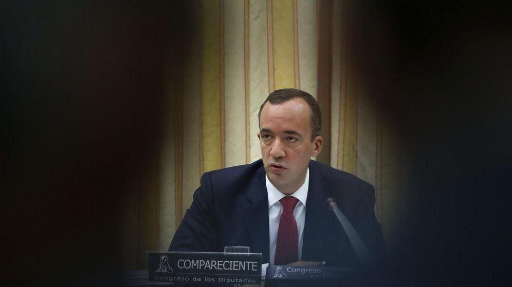 Foto: El exsecretario de Estado de Seguridad, Francisco Martínez, en el Congreso. (EFE)