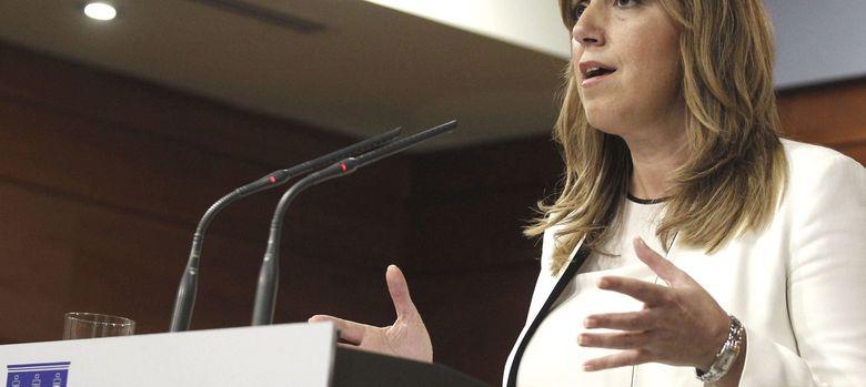 Foto: La presidenta de Andalucía, Susana Díaz (EFE)