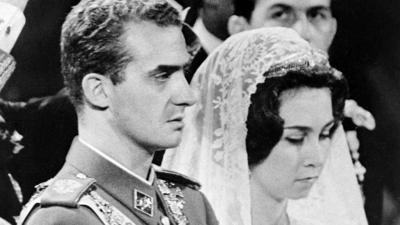 Los ahora reyes eméritos, el día de su boda. (Casa Real)