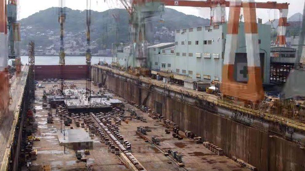 Así se construye un crucero de 600 millones de euros 'en unos minutos'