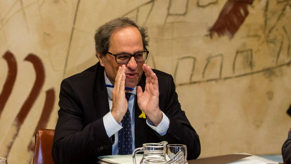 Torra insiste en hablar con Sánchez, que le reclamará preservar la unidad de España