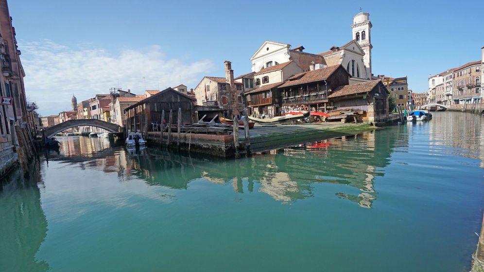 Foto: Venecia está completamente vacía por culpa del coronavirus (EFE/Andrea Merola)