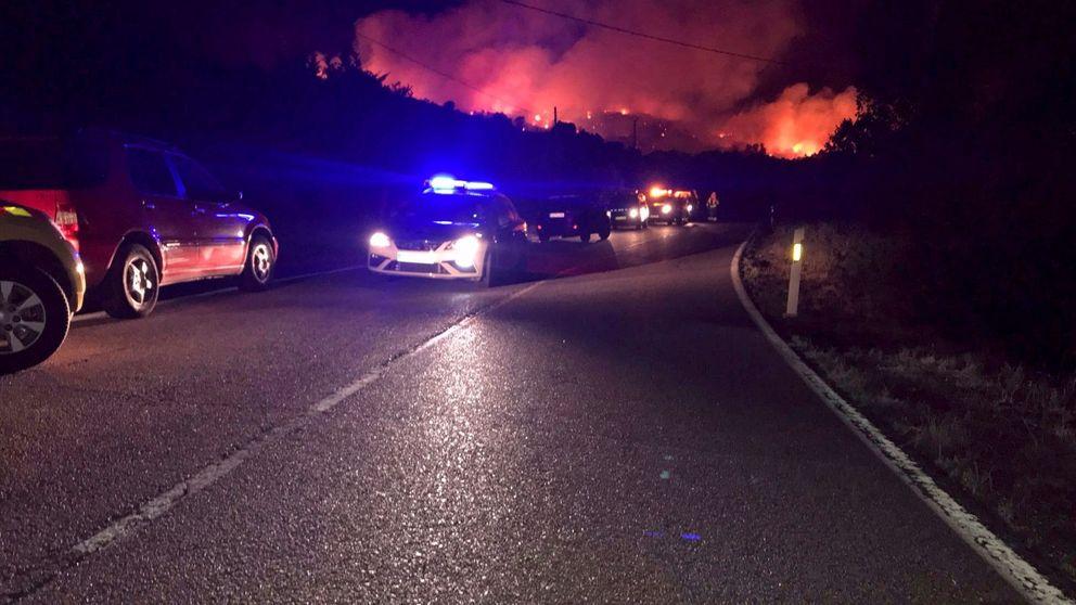Decretado el nivel 0 en el incendio en El Berrueco, ya sin peligro para las viviendas