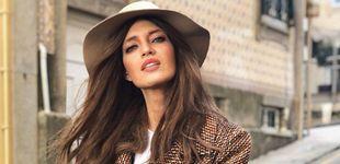 Post de El sombrero feminista de Sara Carbonero es de Zadig&Voltaire