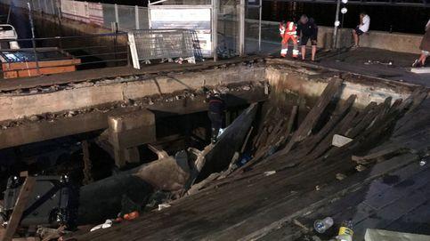Así fue el accidente del festival 'O Marisquiño' de Vigo desde el concierto
