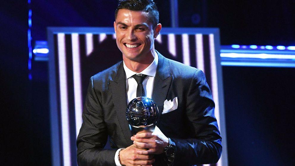 Cristiano gana el premio 'The Best' de la FIFA por segundo año consecutivo