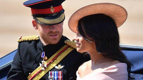 El príncipe Harry y su mujer, pletóricos en el día más feliz de la reina Isabel II
