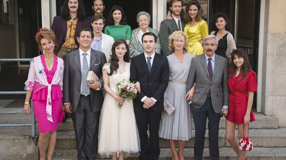 Foto: Foto familiar de la boda. (RTVE)