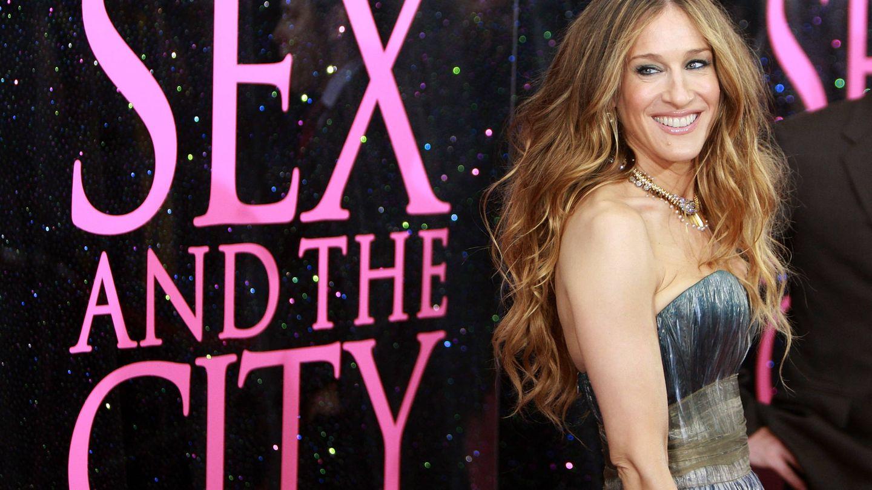 Sarah Jessica Parker, en el estreno de la película 'Sexo en Nueva York'. (Getty)