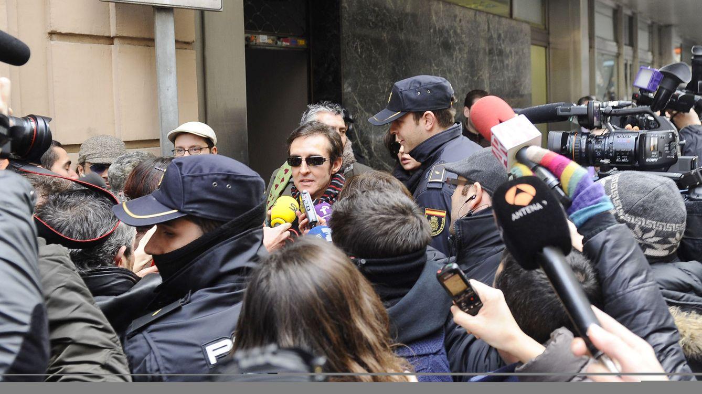 Foto: El cantante Ramoncín en una sesión del juicio (Gtres)