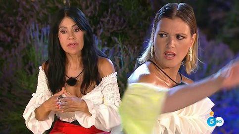 María Jesús abandona en directo 'La casa fuerte' por la alusión de Maite a su ex