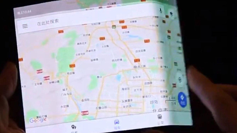Foto: Supuesto móvil plegable de Xiaomi. (Foto: Evan Blass)