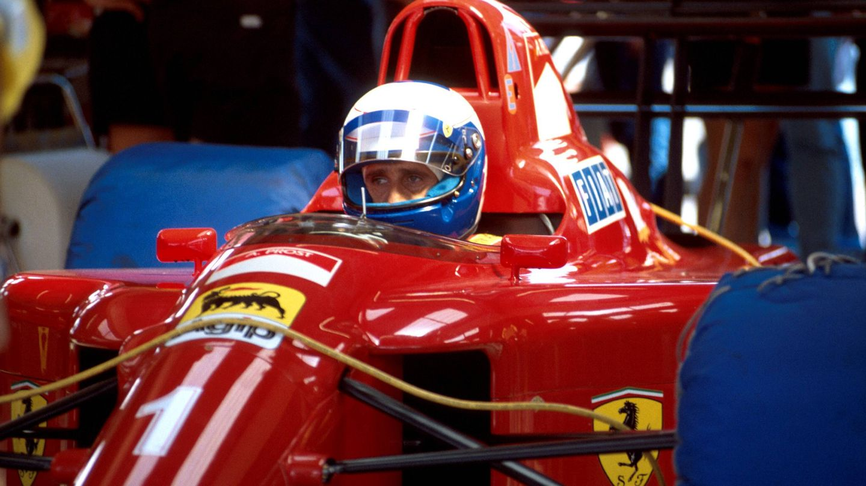 Alain Prost no logró terminar su última temporada con Ferrari en 1991 (REUTERS)