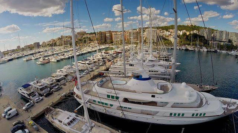 Vista aérea del Club de Mar. (Club de Mar de Mallorca)