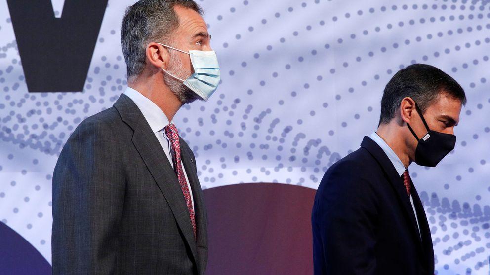 El rey Felipe VI pide en Barcelona unidad para estabilizar la economía