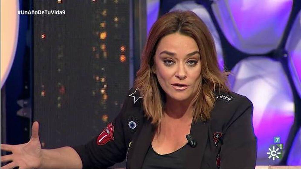 Foto: Toñi Moreno, presentadora de 'Un año en tu vida'. (Canal Sur)