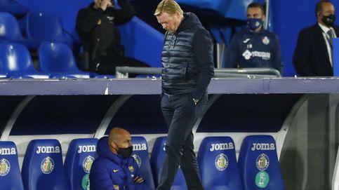 Koeman, sin cintura tampoco en el banquillo: sus cambios perjudican al Barça