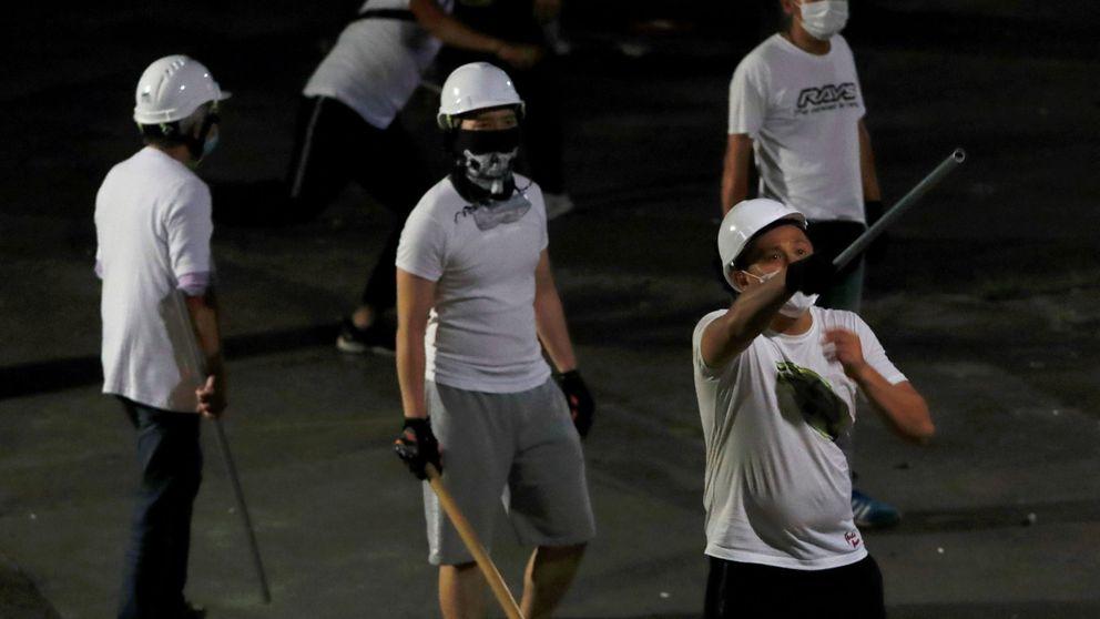 Una banda armada provoca más de 35 heridos en un ataque en el metro de Hong Kong
